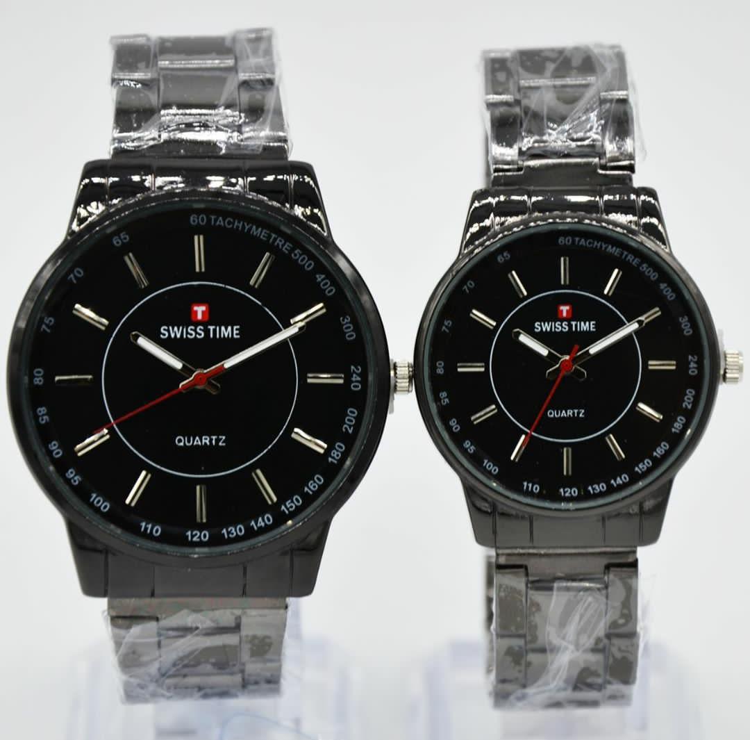 Swiss Army / Time Couple / Pasangan - Jam Tangan Fashion Pria & Wanita - Tali