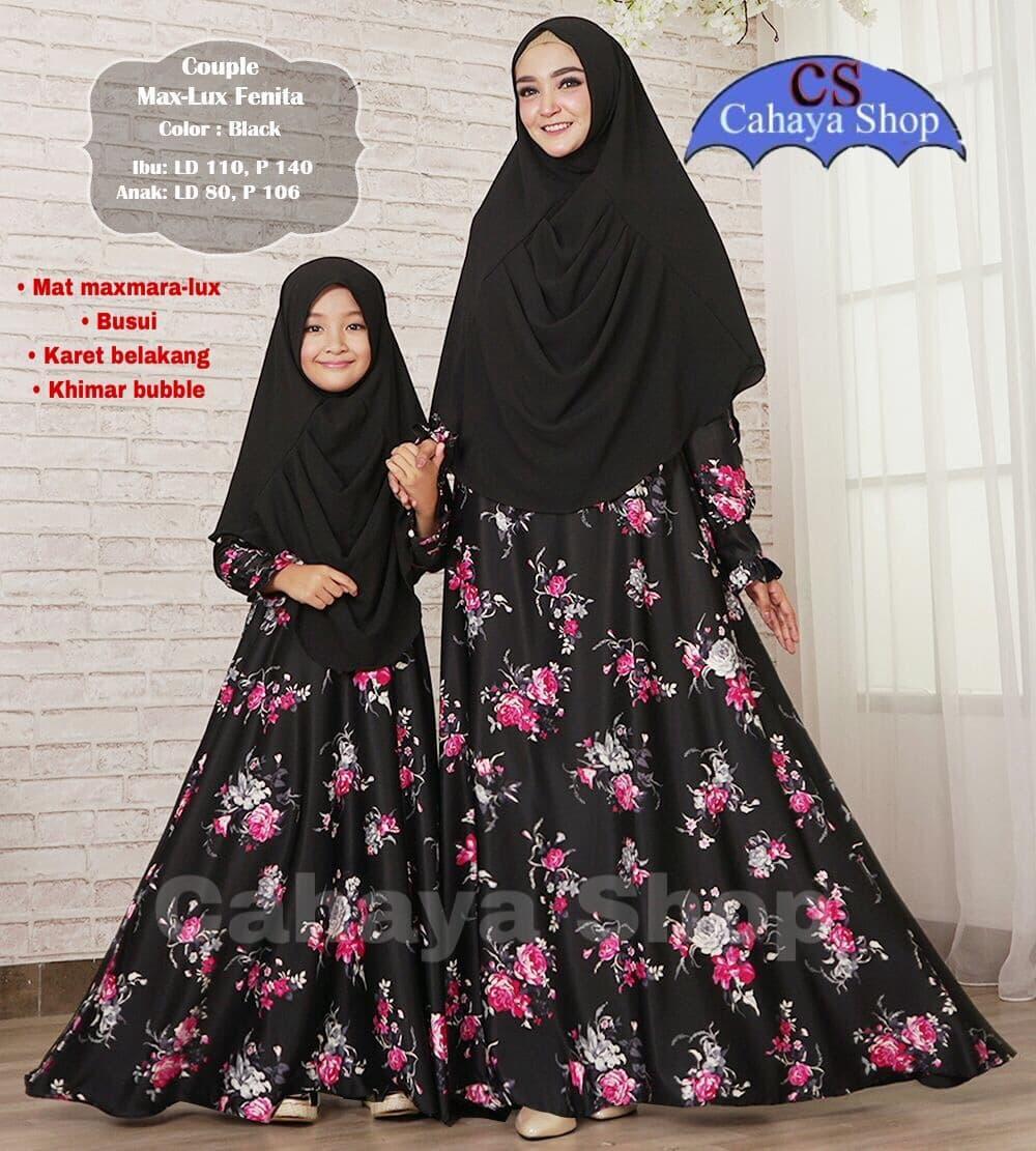 Fenita Couple/ Gamis Syari Ibu dan Anak Perempuan