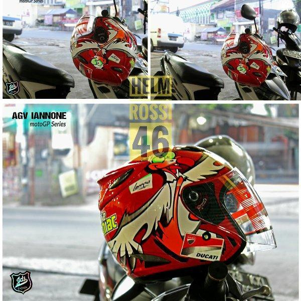 Helm Agv Ianonne Ducati Moto Gp