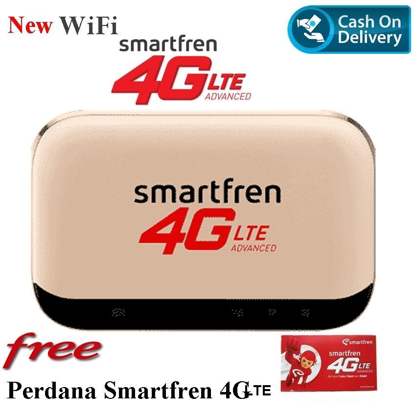 Smartfren Andromax New Modem Mifi M5 Modem 4g Lite Free Perdana Smartfren Warna Random