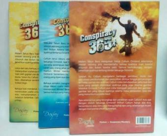 Pencarian Termurah Paket 3 buku Seri 1, 2, 3 Novel Conspiracy 365 Baru Seg sale - Hanya Rp139.717