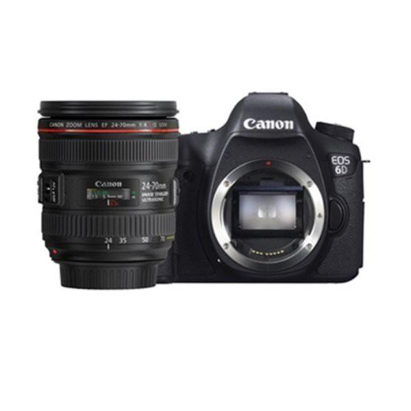 Canon EOS 6D Kit II (EF 24-70 IS USM) Wifi