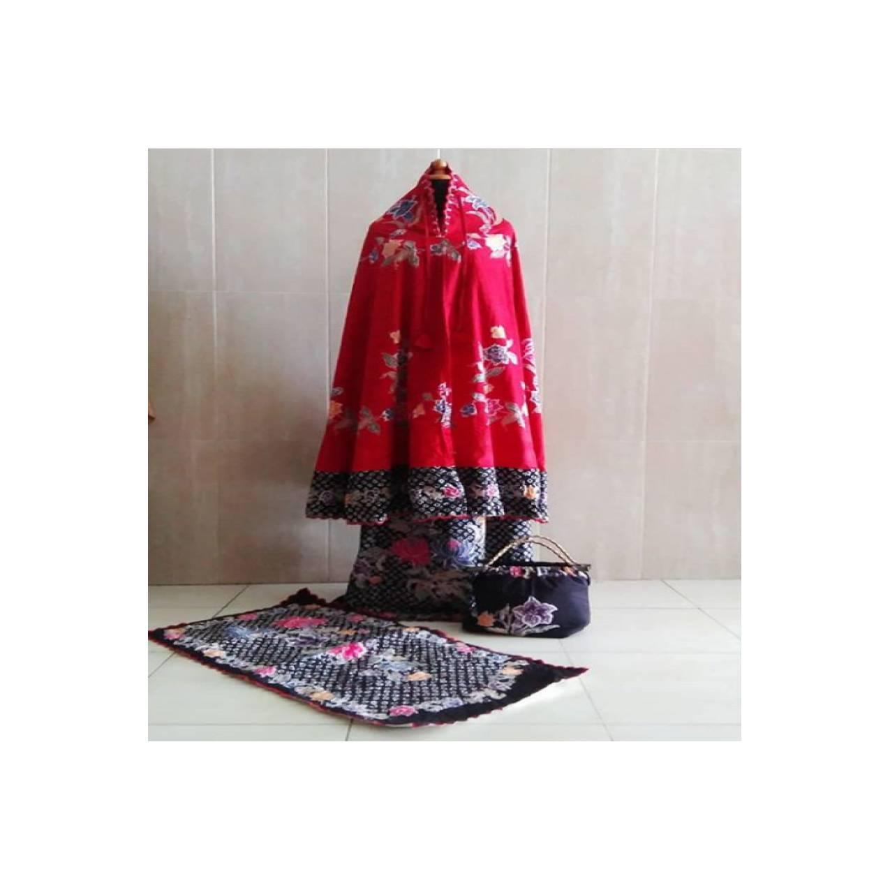 Mukena Batik Encim Bordir (2 warna )