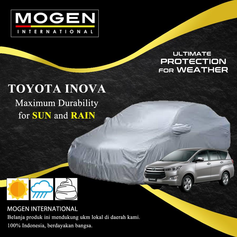 Cover Mobil / Body Cover TOYOTA INOVA Waterproof / Sarung Mobil Silver