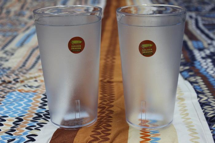 HOT SPESIAL!!! gelas minum bening clear golden dragon GOOD QUALITY - hrP9Mf