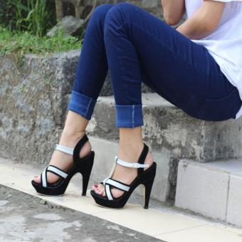 Shock Price Adelioshoes -Sepatu high heels wanita / Heels pita / Heels pesta / Heels termurah ADL-DU best price - Hanya Rp52.715
