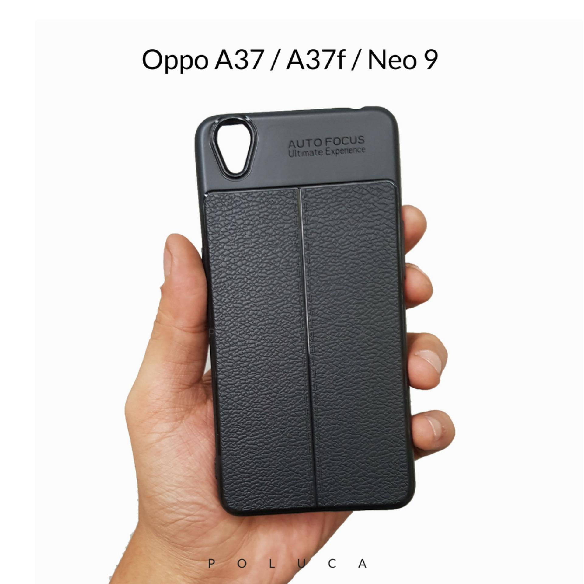 Poluca Luxury Case For Oppo A37 / A37f / Neo 9 Ultimate Experience TPU Leather Autofocus