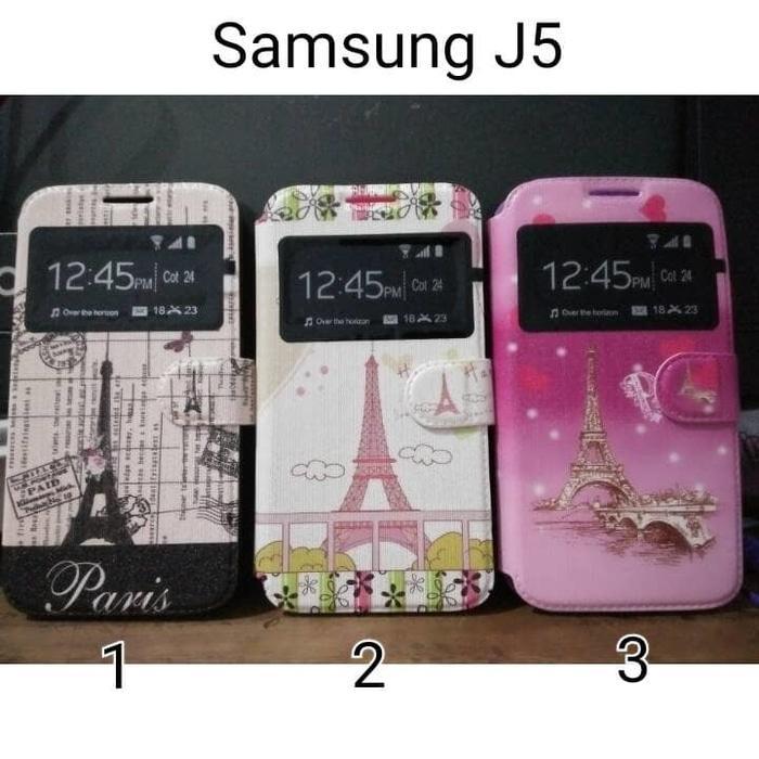 HARGA PROMO!!! Flipcover Samsung j5/ casing handphone samsung j5 paris/ flip cover - rRnYbt