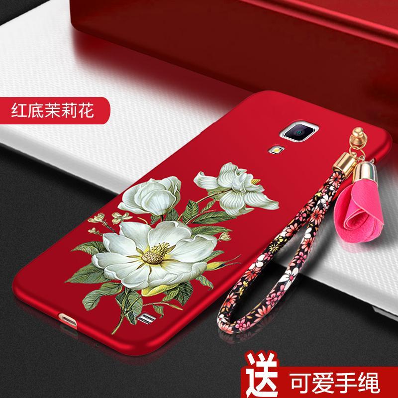 Samsung Sarung Gel Silika Sm-g7509 Tali Gantungan Pelindung Selubung Lunak Mega2 Bungkus Penuh