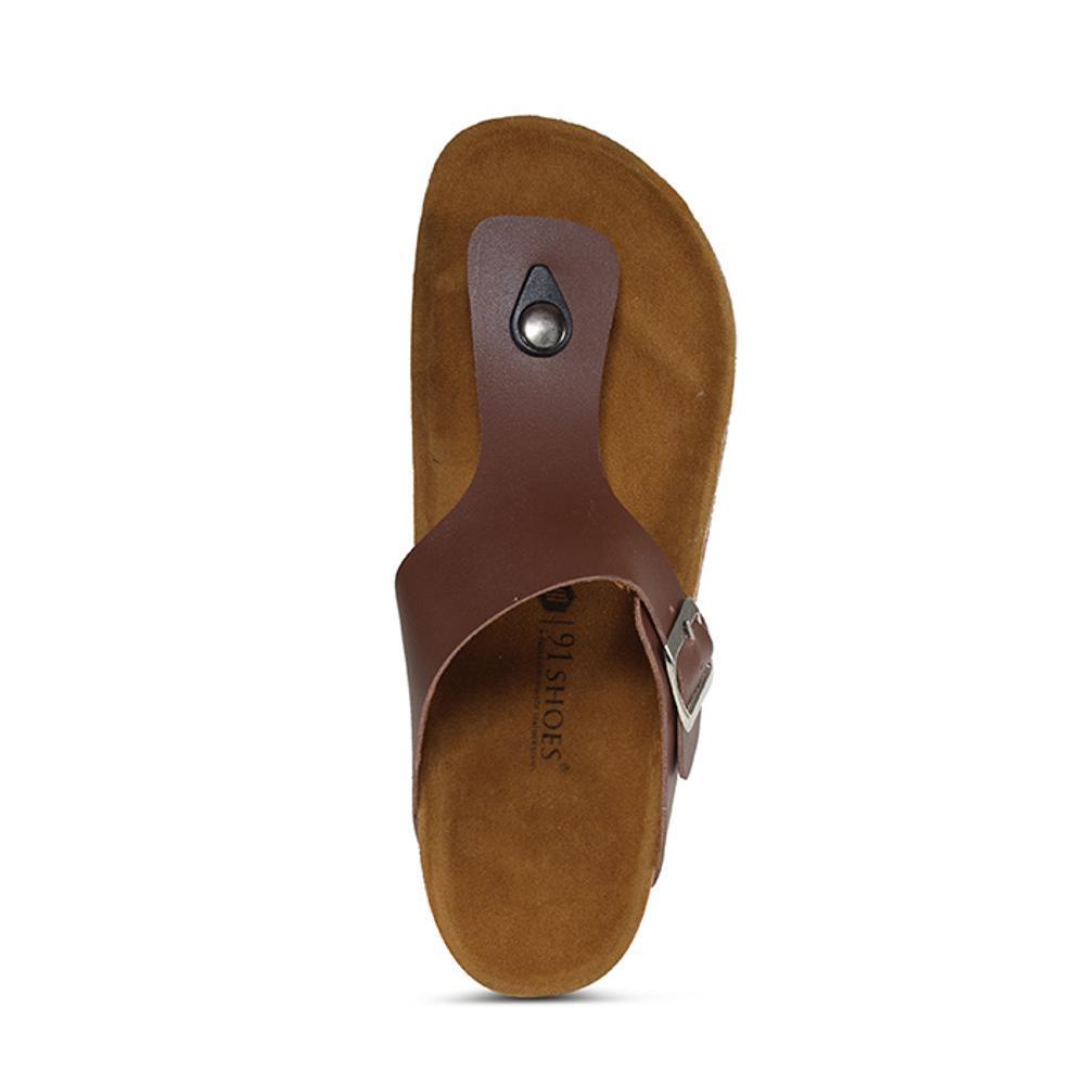 Promo Sandal Pria Dan Wanita 91 Shoes Model Birkenstock Sendal Unisex Jepit Coklat Fashion