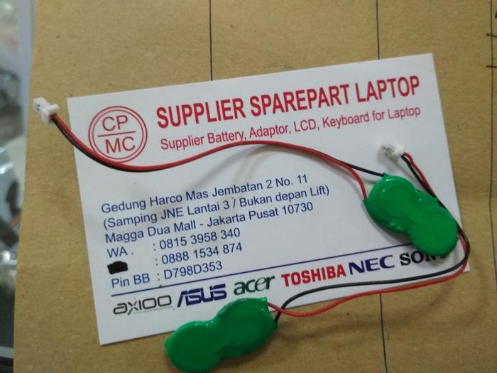 Promo Terbatas!! Baterai Cmos C Mos C-Mos Toshiba Portege R700 Series - Ready Stock By Rahmawaticollection.