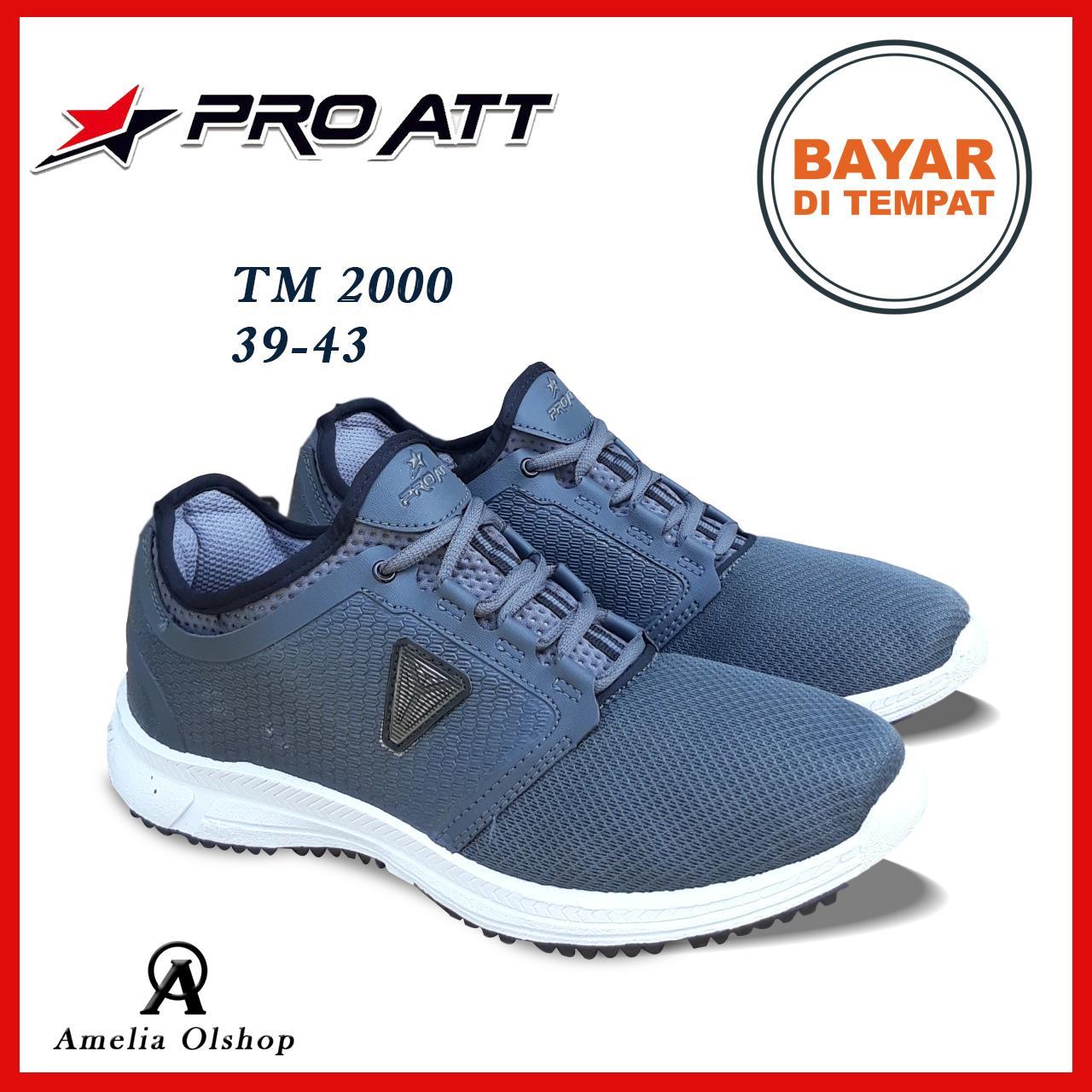 Amelia Olshop - Sepatu PRO ATT TM 2000 39-43 / Sepatu Pria / Sepatu Sneakers Pria / Sepatu Sports Pria / Sepatu Jogging Pria / Sepatu Olahraga Pria