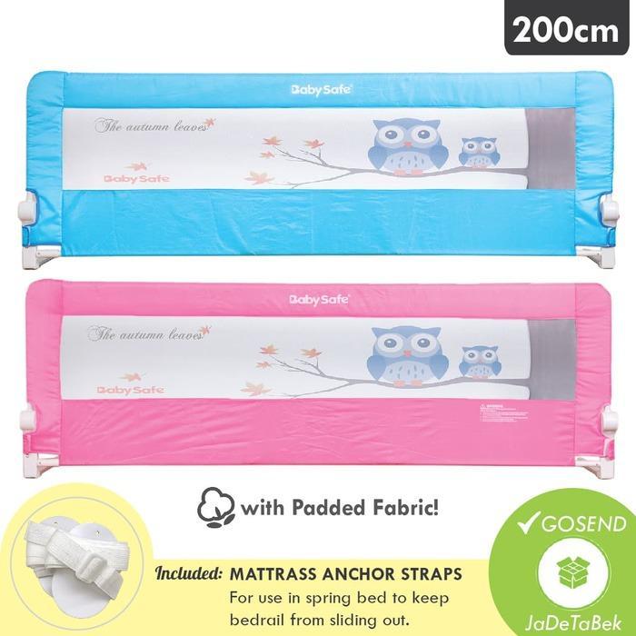 Baby Safe Bedrail 200cm - Pengaman Ranjang Anak / Pembatas Kasur Bayi