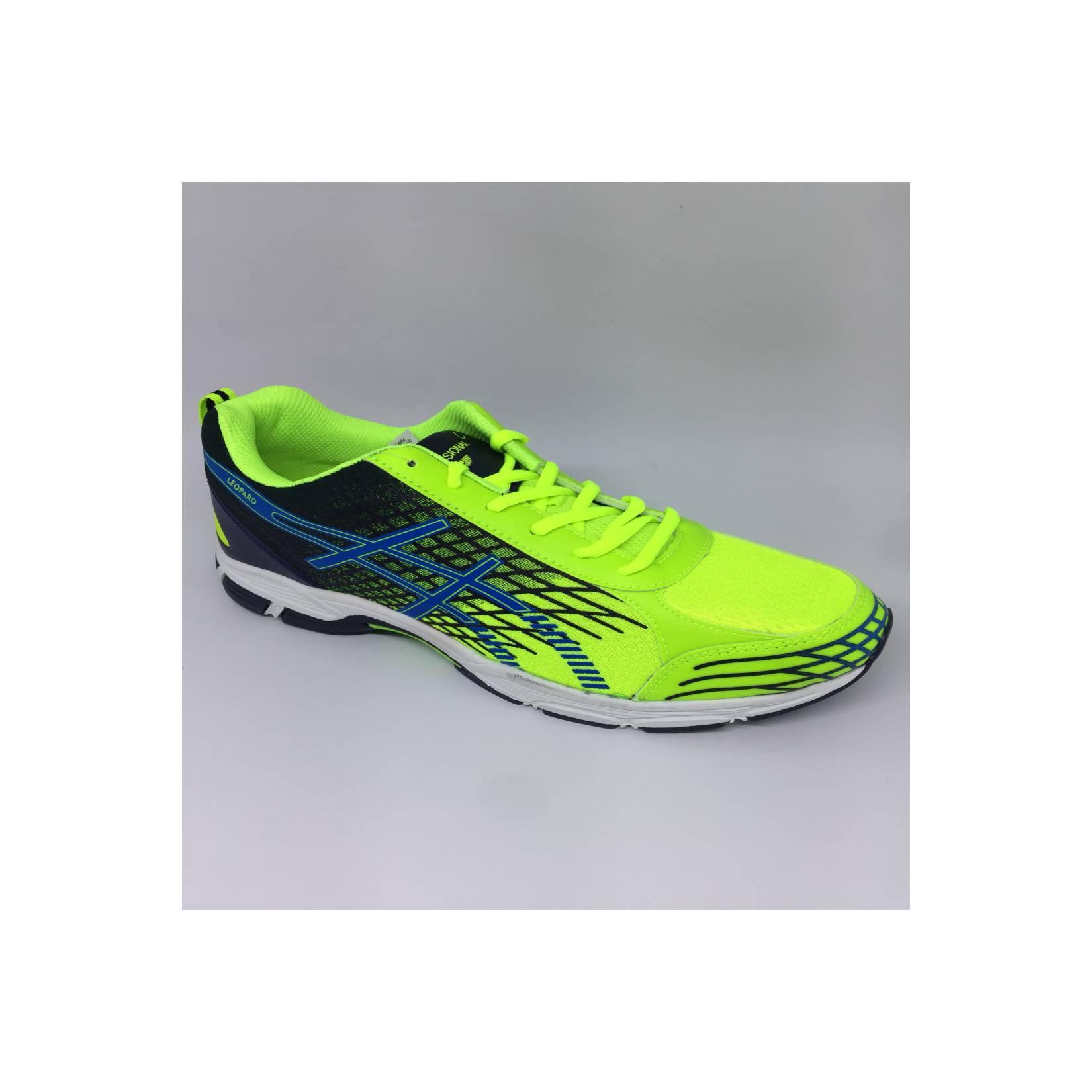 Sepatu running jogging Professional Leopard Stabilo new 2018