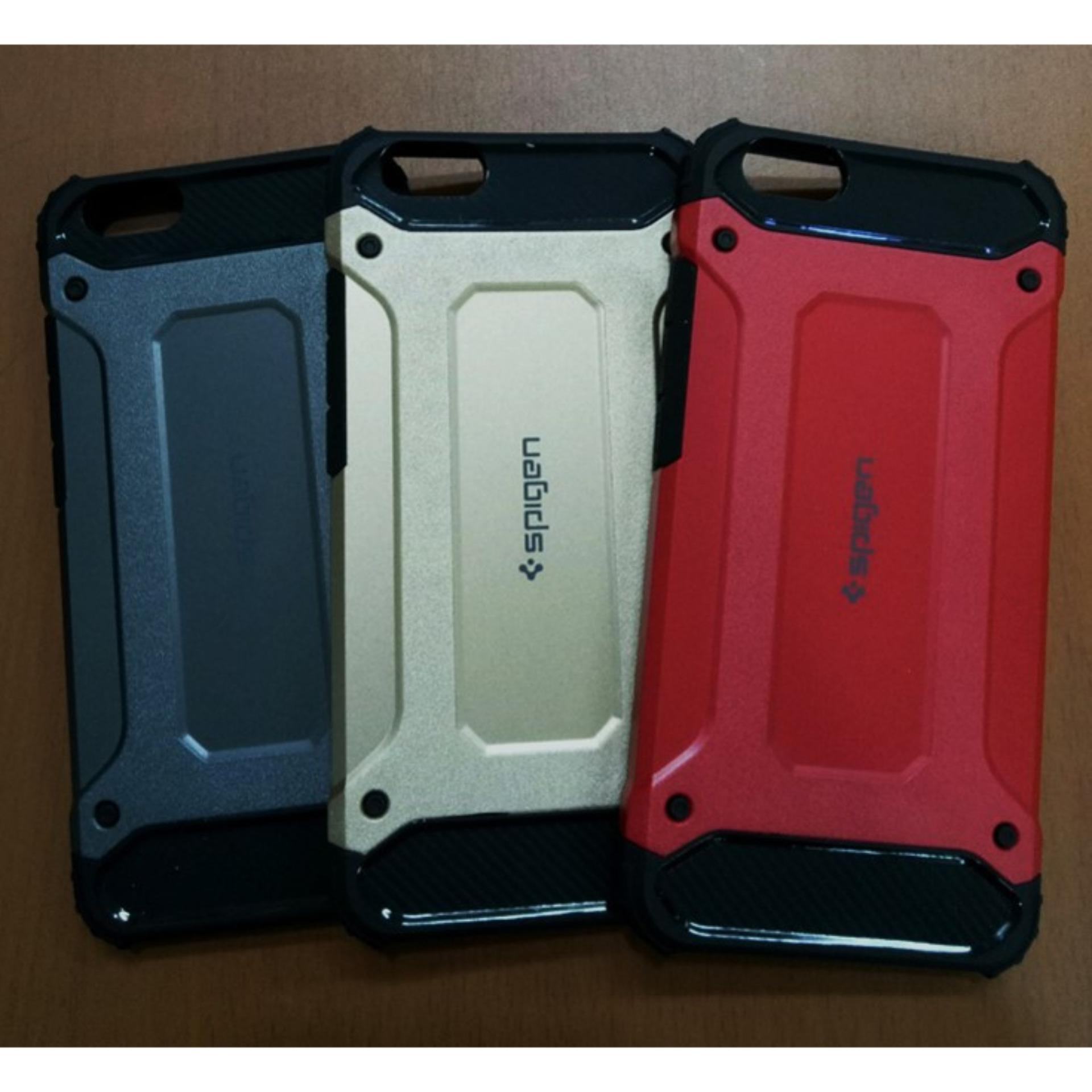Case Hard Cover Robot Shockproof Armor For Vivo Y71 – Red