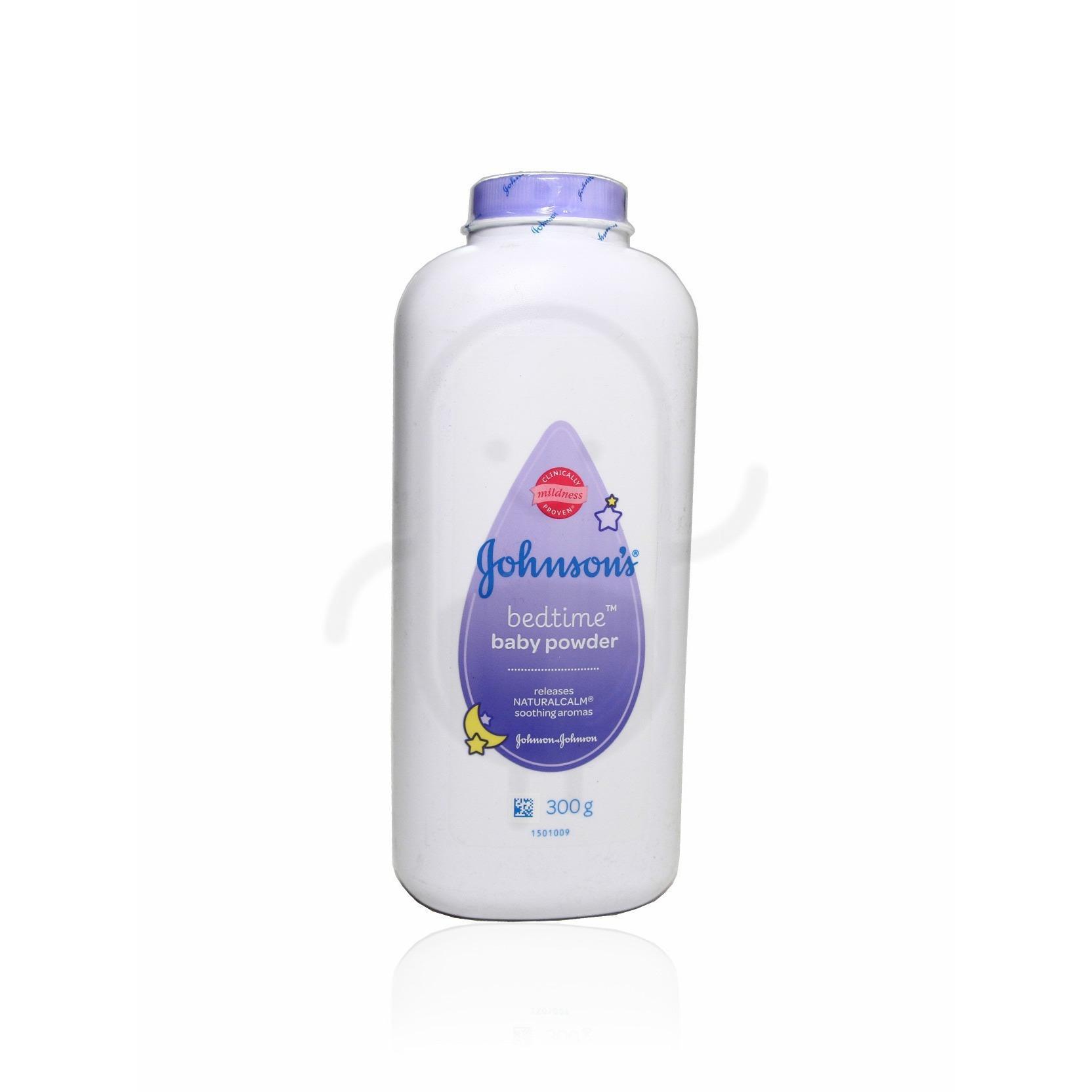 Johnson's Bedtime Baby Powder 300gr - Dengan teknologi Active Fresh untuk menetralkan bau
