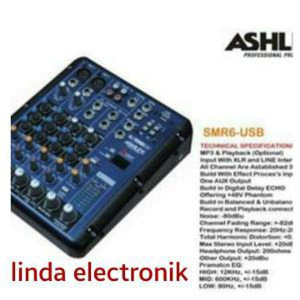 MIXER ASHLEY SMR6 USB