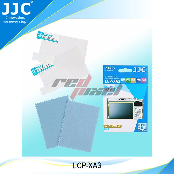 JJC LCP-XA3 ~ LCD GUARD FILM FOR FUJIFILM X-A3 (2PCS)