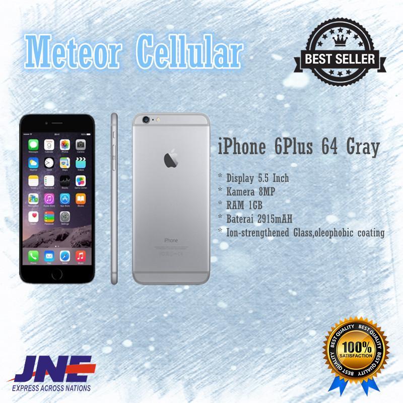 Apple iPhone 6 Plus - 64Gb - Gray - Garansi 1 Tahun Original