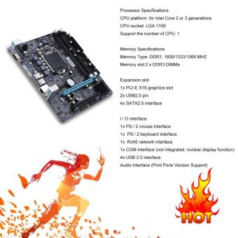 Source · Harga preferensial 6 Channel Mainboard P55-