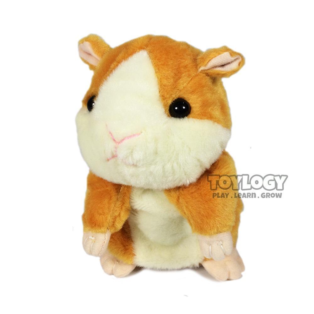 Mainan Talking Hamster - Boneka Hamster bisa bicara menirukan suara