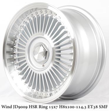 Velg Mobil Murah WIND JD9009 HSR Ring 15 ( Wheelskingdom )