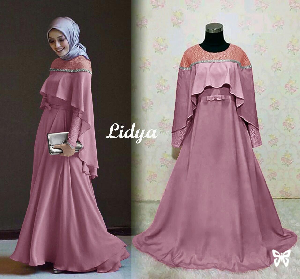 Solok Selatan Collection - Dress Pesta Muslimah / Gamis Syari / Baju Muslim / Baju Pesta Muslimah / Baju Islami