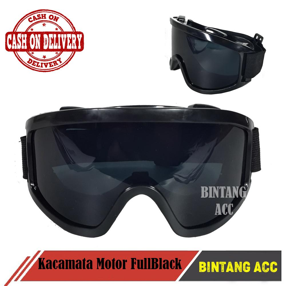 Bintang Acc - Kacamata Sepeda Motor Tactical Pelindung Mata Lensa Wide UV Kacamata  Motor Ski 2a2a036c61