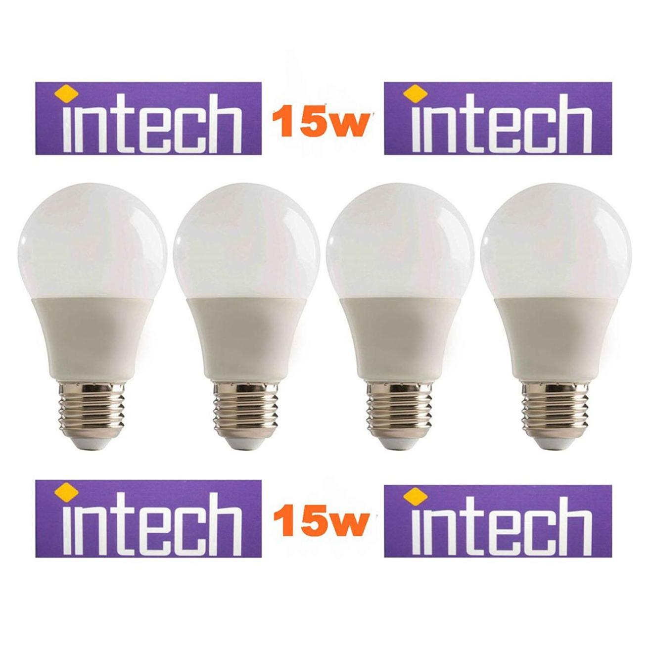 Jual Lampu Bohlam Bulb Buy 1 Get Free Usb Led 5 Watt Emergency Intech 15w 15wat 15 W Paket 4 Pcs Putih