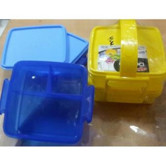 Pencari Harga Rantang Plastik 2 Susun Ergonomis Berkualitas Terbaik Murah