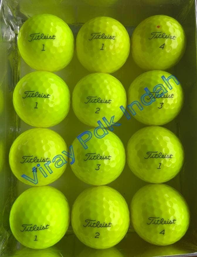 BEST SELLER!!! Bola Golf Titleist NXT TOUR S Yellow kw Bagus 1 Lusin - 3c7yo1