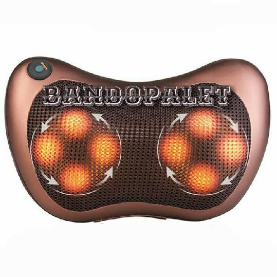 Car & Home Massage Pillow / Bantal Pijat Otomatis Untuk Mobil atau Rumah