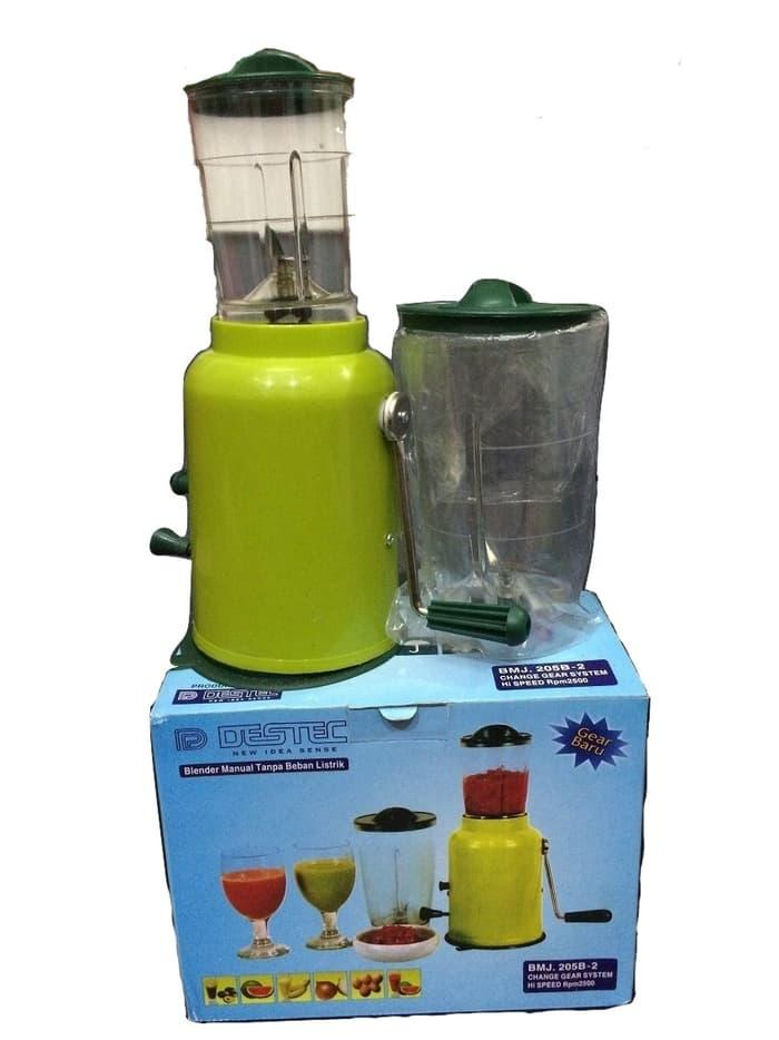 HOT PROMO!!! Destec Blender Manual 2 Tabung - uf6qjy