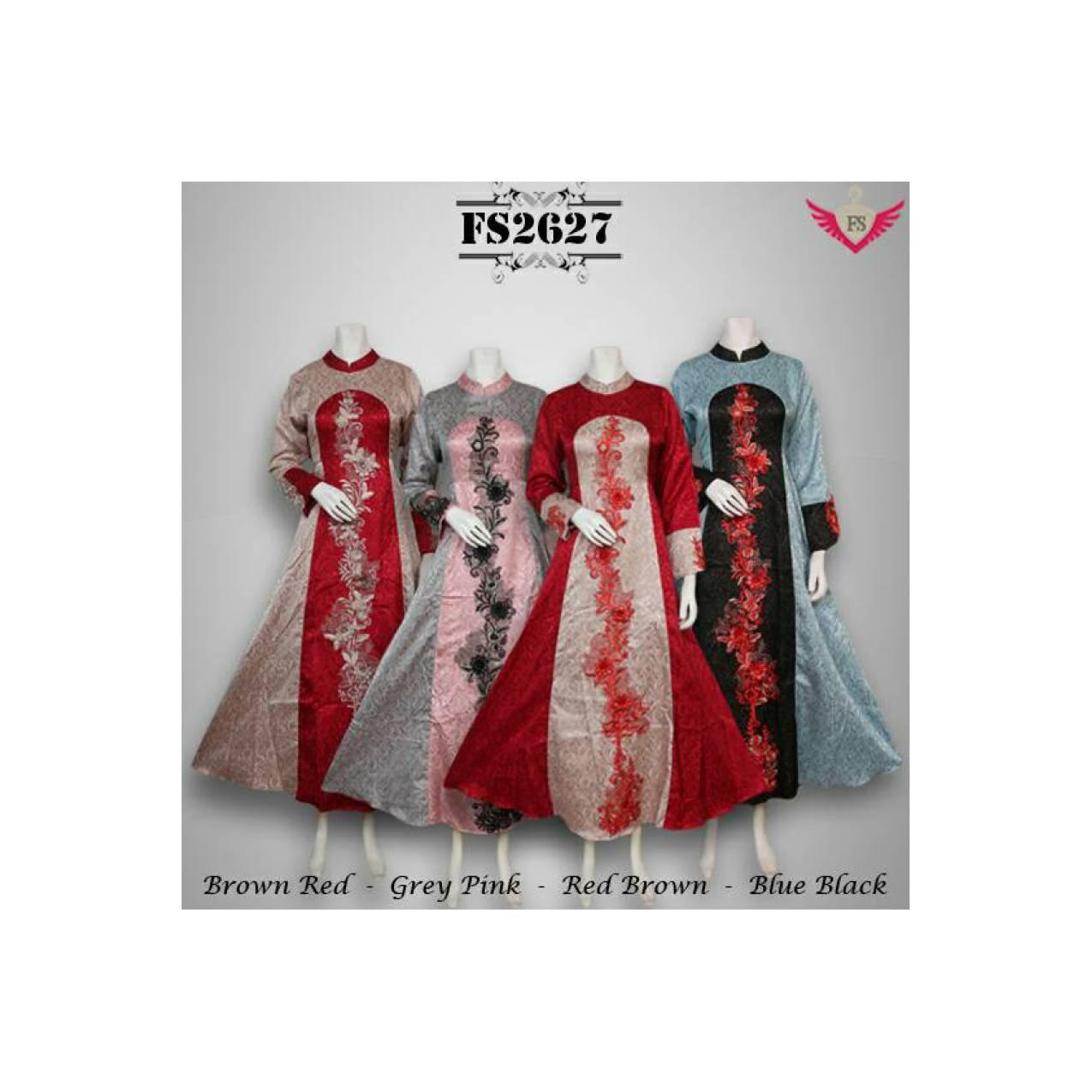 gamis busana muslim maxi dress baju pesta abaya baju india