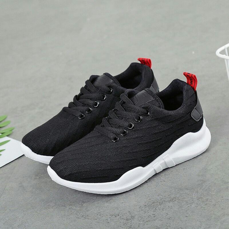 216collection Sepatu Kets Sneaker Wanita Pria PP new - kets Casual Pink  Hitam 16c9860214