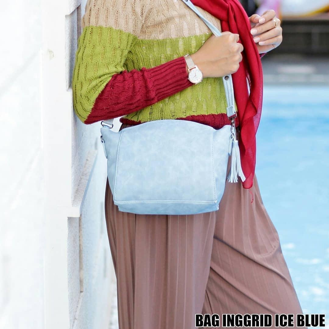 Ubay shop Sling Bag Tas Selempang Wanita Inggrid