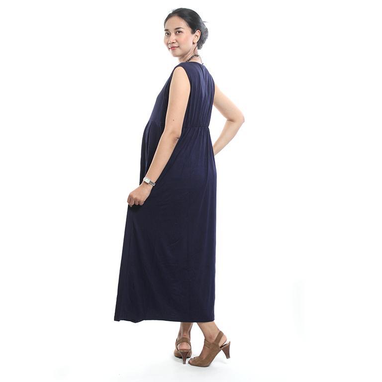 Ning Ayu Free CD Hamil Baju Hamil Gamis Menyusui Kaos - DRO 418 / Baju Menyusui Lengan Panjang / Baju Atasan Menyusui / Baju Menyusui Muslimah / Baju Muslim Wanita untuk Ibu Menyusui/ Baju Hamil Untuk Kerja