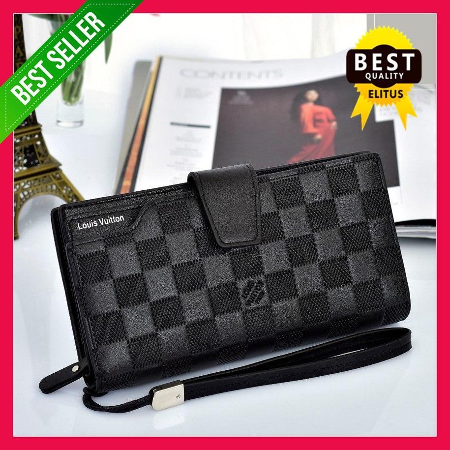 Dompet Branded Dengan Kotak Fashion Wanita Tas Import Grosir Dompet  Clutches Handbag Trendy 7f9f9f5774