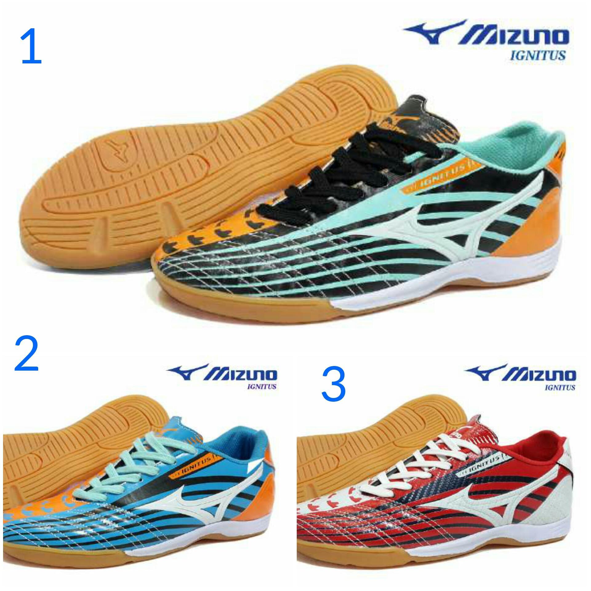 Promo Sepatu Pria Olahraga Futsal Mizuno Ignitus Made In Vietnam Termurah Diskon