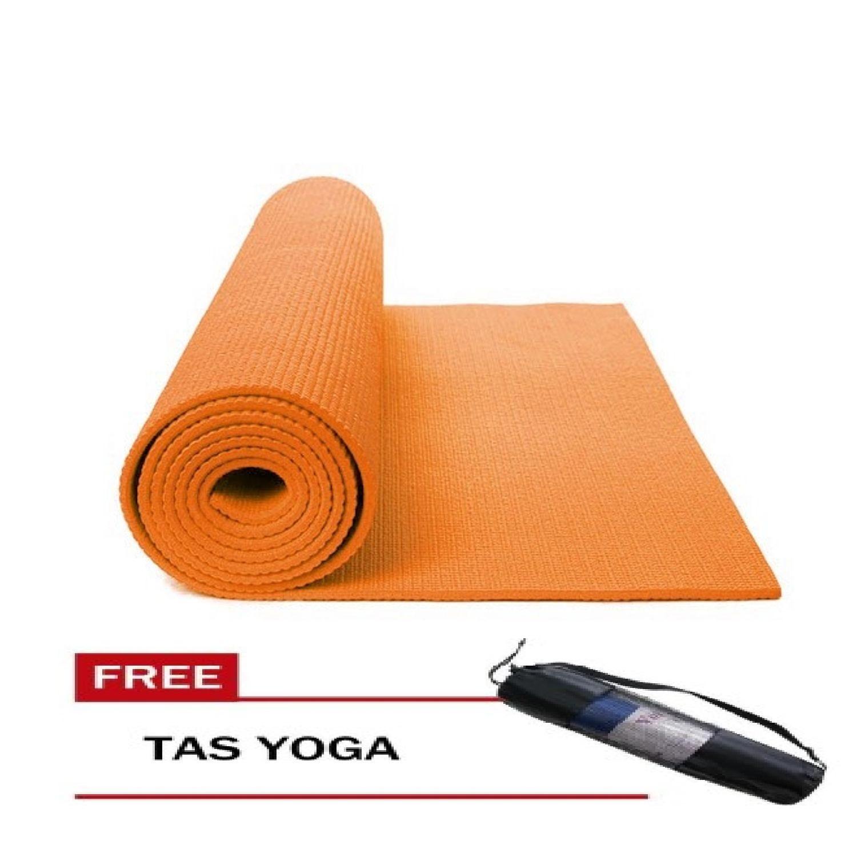LARIS99 MTY Matras Yoga Anti Selip Kualias Bagus + TAS / Matras Yoga Tebal 7Mm /