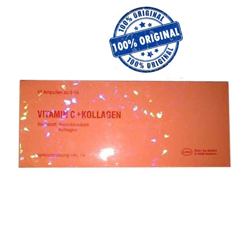Rodotex Nano Vitamin C + Kollagen Merah Asli Import Germany