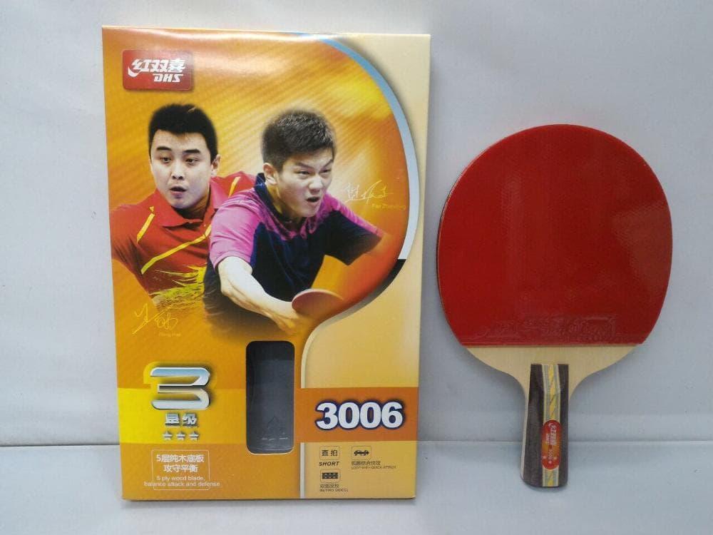 Original DHS 3006 Bat Ping Pong / Tenis Meja TM230 Murah