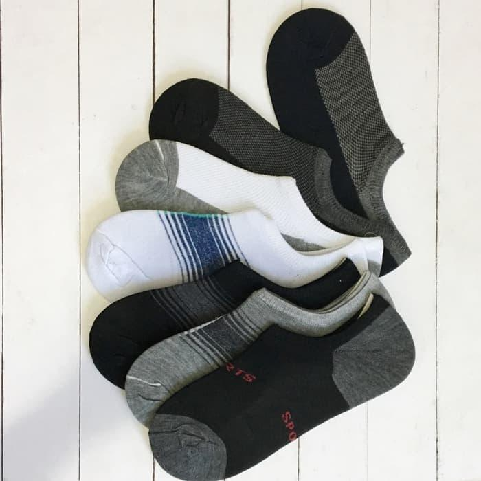 (1 Lusin) Kaos Kaki Hidden Socks Bawah Mata Kaki