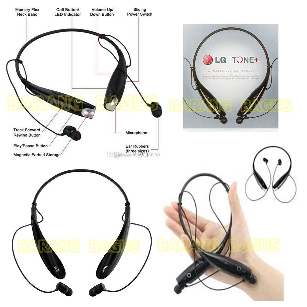 LG TONE HBS 730 Bluetooth Earphone Stereo Hetset Wireles Sporty [ Barang bagus ]