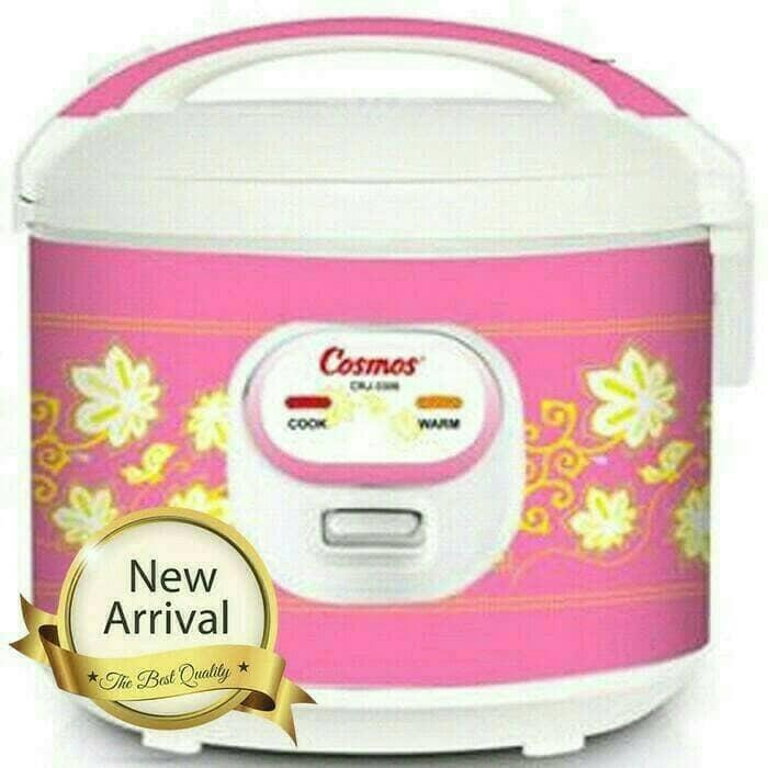 ASLI!!! COSMOS Rice Cooker Penanak Nasi Magic Com 1,8 L CRJ 3306 - e7slgz