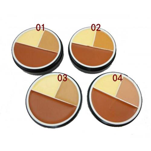 Menow Foudation Concealer 3 Color Tiga Warna