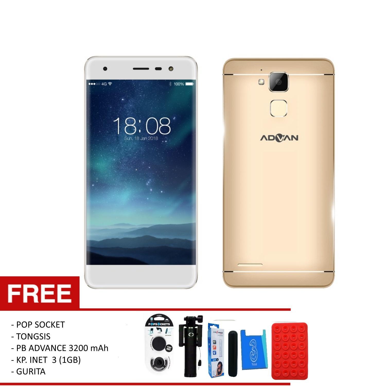 Produk Advan Terbaru Bergaransi I5e G1 Pro 5 Inchi Ram 3g Rom32gb 4g Lte Fingerprint