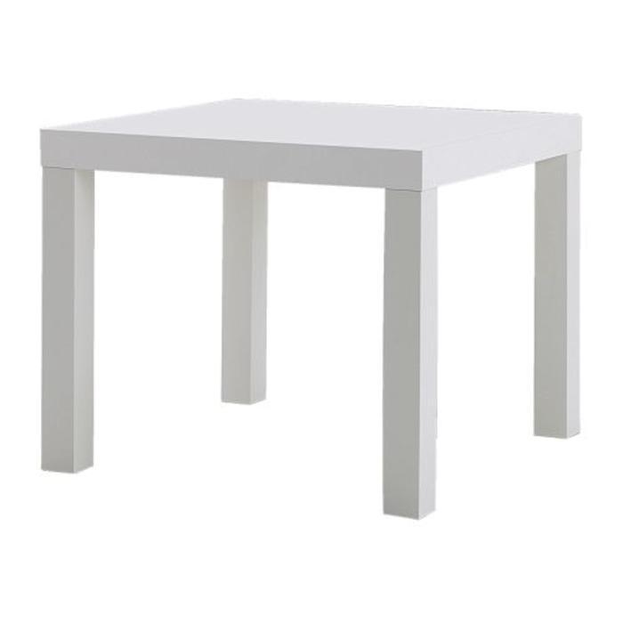RAK Meja Samping Kecil Modern Minimalis Putih IKEA LACK