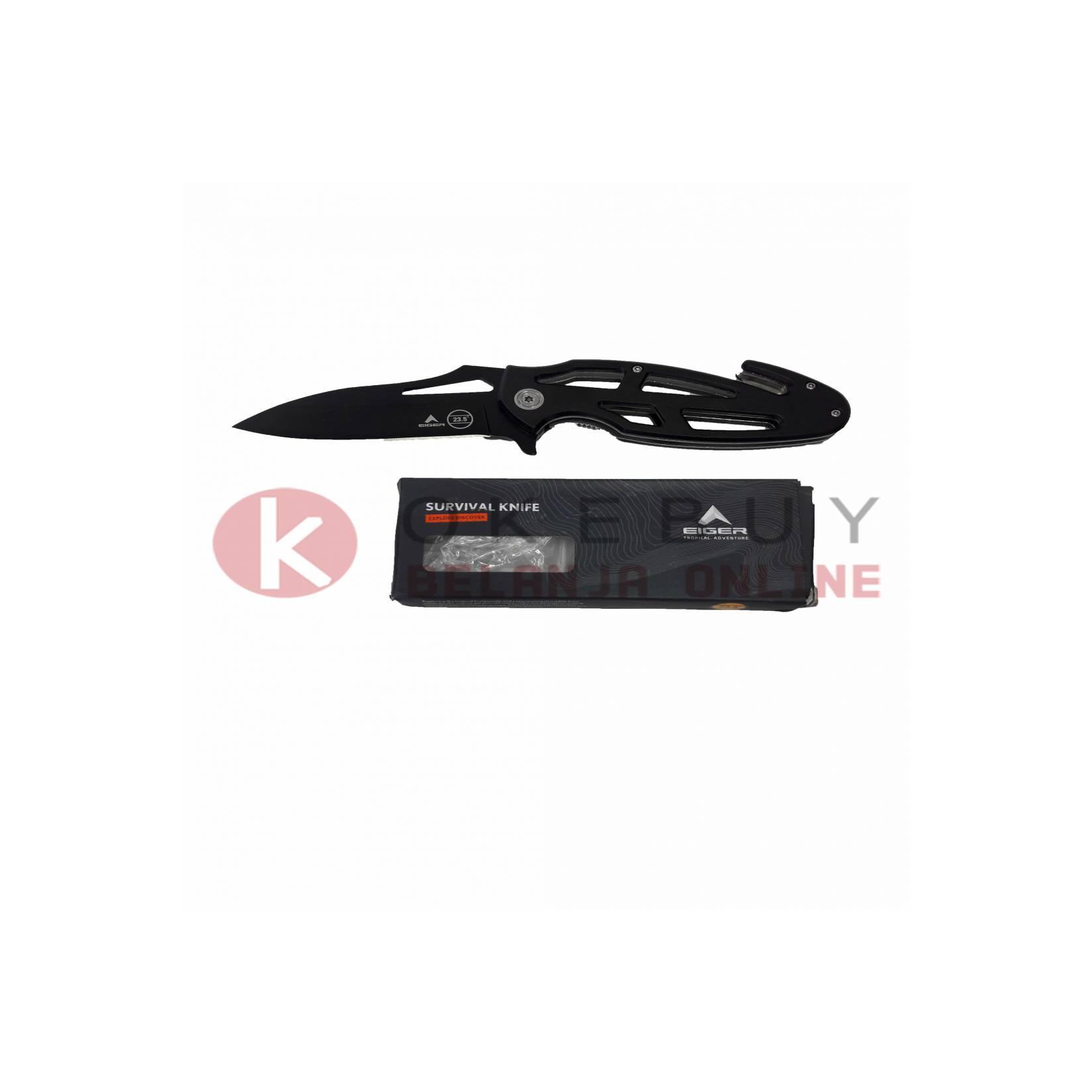 Pisau Lipat Eiger P323 SKELETON KNIFE 3658 ORIGINAL