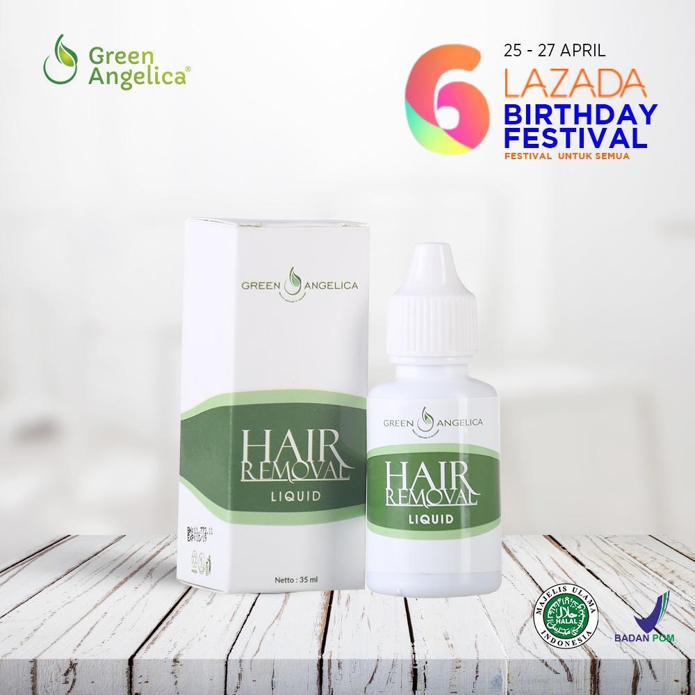 Perontok Bulu Permanen, Penghilang Bulu Cepat dan ampuh Menghilangkan Bulu Ketiak Kaki dan Tangan Green Angelica Hair Removal